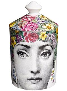 Scented Candle - Flora  by Fornasetti Profumi, at Luckyscent. Hard-to-find fragrances, niche brand perfumes,  and other under-the-radar luxuries.