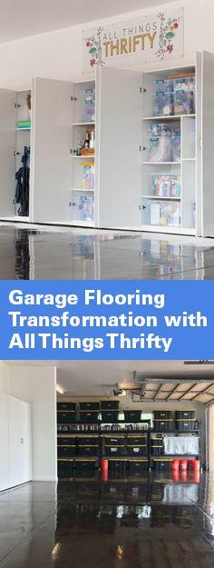 Vanilla ice gets a new garage floor ron van winkle uses