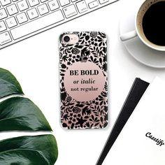 Be bold black - Snap Case