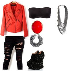 """Untitled #50"" by laylahood on Polyvore"