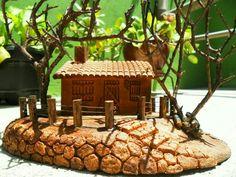 Mini Casinha de cerâmica - Artes Rei