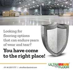 Ultra Floor Solutions - perfect companion for seamless operations. If you are looking for flooring options that can endure years of wear and tear, then you have zeroed in on a perfect partner. Industrial Flooring, Flooring Options, Over The Years, Canning, Home Canning, Conservation