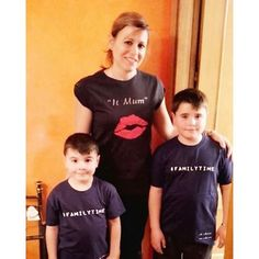 Camisetas IT MUM (22,95€) y #FAMILYTIME (14,95€) para toda la familia. Disponibles en http://decharcoencharcoshop.com. Código PIN10 para obtener un 10% de descuento (PIN10 for a 10% off). Worldwide shipping.