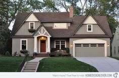 A cottage style home with an attached garage was renovated by Sicora, Inc.