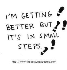 Blog: Setbacks and Babysteps