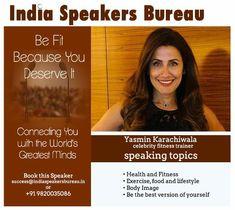 Speakers Bureau, Motivational Speakers, Celebrity Workout, Body Image, Mindfulness, Exercise, Good Things, Celebrities, Health
