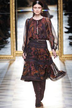 Sfilata Salvatore Ferragamo Milano - Collezioni Autunno Inverno 2012-13 - Vogue