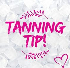 TAN TIP THURSDAY! Remove all make up, moisturizers and excess oil from face before spray tanning to ensure an even result.