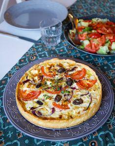 Grekisk paj - Zeinas Kitchen I Love Food, Good Food, Yummy Food, Food Porn, Zeina, Swedish Recipes, Dressing, Recipes From Heaven, Food Blogs