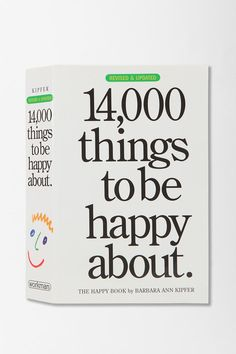 14,000 Things To Be Happy About By Barbara Ann Kipfer #urbanoutfitters