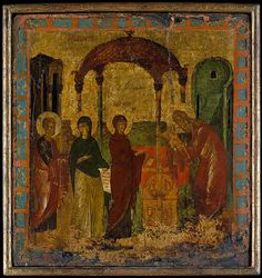 Byzantine Painter | The Presentation in the Temple | The Met