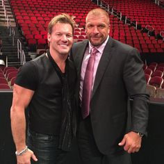 Have you checked out the amazing 2 part conversation with #TripleH on #TalkIsJericho? If you love @wwe you do NOT wanna miss it! We discuss the early days of Terror Riser, Jean Paul Levesque, how he got into the #WWE, how he had to take a trip to the hospital after his first night with #TheKliq, his torn quad and subsequent return after drs told him he never would, the attitude era and the real life heat he had with @TheRock, #SteveAustin