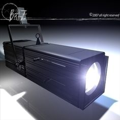 Stage light - PC 3D Model-   Stage lightScale 1:1Accurate,Yoke with adjustable height,Opening upper grid, pc (plane convex) lens. All movable and rotating pieces.Lights and floor of the stage in render of Primary Thumbnail are included.Only cinema 4d R10 format has materials. - #3D_model #Other 3D Models