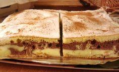 Božská chuť skořice! Vynikající koláč se zakysanou smetanou, který zmizí z plechu za neuvěřitelně rychlý čas. Czech Recipes, Ethnic Recipes, Sweet Cakes, Superfoods, Sweet Recipes, Tiramisu, Deserts, Food And Drink, Pie