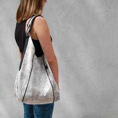 FURIA - bag sack - black and white