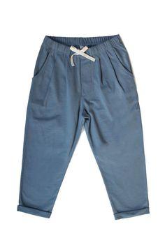 Organic apparel for the little minimalist Emily Gray, Gray Label, Spring New, Pleated Pants, Label Design, Pajama Pants, Minimalist, Sweatpants, Unisex