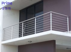 Perfect Balcony Stainless Steel Railing Gallery Perfect Balcony Stainless Steel Railing Gallery, house looks more pretty similar to alternative side dishes found inside. Stair railing is one of such. Terrace Grill, Balcony Grill Design, Balcony Railing Design, Window Grill Design, Steel Grill Design, Steel Railing Design, Modern Balcony, Stainless Steel Railing, Stair Handrail