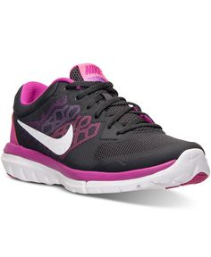 74ed5b9e8705 Nike Women s Flex Run 2015 Running Sneakers from Finish Line - Finish Line  Athletic Shoes -