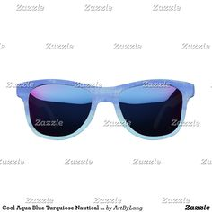 Shop our selection of Nautical sunglasses & protect your eyes from the spring and summer rays. Get your Nautical eyewear from Zazzle today! Summer Ray, Grunge Style, Grunge Fashion, Aqua Blue, Eyewear, Nautical, Sunglasses, Beach, Image