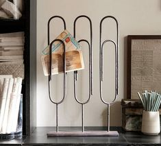 Pottery Barn's home office accessories and desk sets add functional style to a workspace. Find desk accessories and make home office organization easy. Quirky Home Decor, Home Office Decor, Diy Home Decor, Pottery Barn, Bike Wall, Home Office Inspiration, Office Ideas, Decoration Originale, Diy Décoration