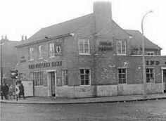 An Old Photo of the Colleen Bawn Pub at Junction of Southwark Park Road and St James's Road in The Blue Shopping Centre Bermondsey South East London England