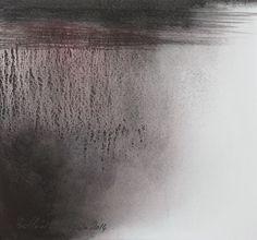 """""""Force des liens III """"  Aquarelle Muriel Buthier-Chartrain env 20 x 20 cm / 2014"""