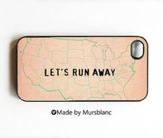 iphone case Let\'s Runaway Together Let\'s run by HipsterCases