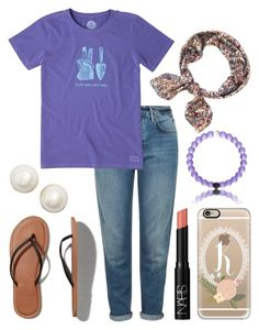 """""""My OOTD"""" by kk-purpleprincess ❤ liked on Polyvore featuring Topshop, Life is good, Abercrombie & Fitch, Kate Spade, Casetify and NARS Cosmetics"""