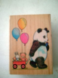 Just bought this Panda stamp on ebay for Andrew's birthday party.