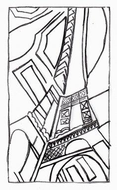 robert delaunay La Tour eiffel: productions plastiques