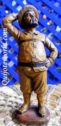 Figuras Don #Quijote de #LaMancha, figuras de resina para la #decoración de interiores. Piezas únicas hechas a mano, figuras para decorar, artesanía irrepetible. Traídas directamente de la imaginación de nuestros artesanos. Puedes ver nuestro catalogo en: http://www.quijoteworld.com/quijote-decoraci%C3%B3n-tienda/figuras-medianas-decoraci%C3%B3n/resina/ O visitanos en: www.quijoteworld.com