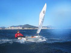 International series sailing dinghy : OPTIMIST  Ziegelmayer