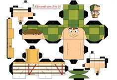 PaperToy Chaves