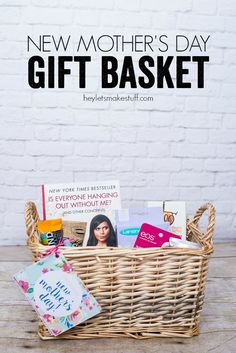 New Mother's Day Gift Basket | anightowlblog.com
