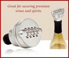 Love this product.   It was well worth the money!  Combo Liquor/Wine Bottle Lock-Solid Stainless Steel, http://www.amazon.com/dp/B0058EFM8I/ref=cm_sw_r_pi_awdm_HOOdtb09MD0DR