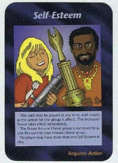 Illuminati card game - Self Esteem