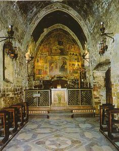 The inside of St. Francis' Portiuncula - Wow!