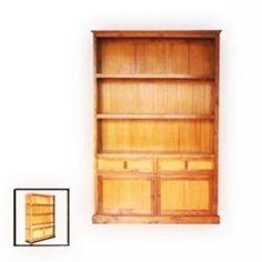 Bookcase 2 drawer 2 doors