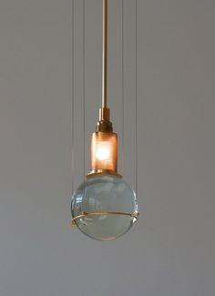 pendant lamp by Günter Leuchtmann
