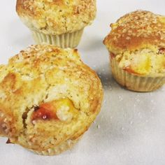 Sourdough Fruit and/or Berry Muffins