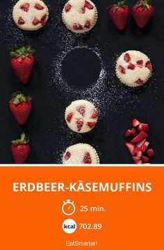 Erdbeer-Käsemuffins