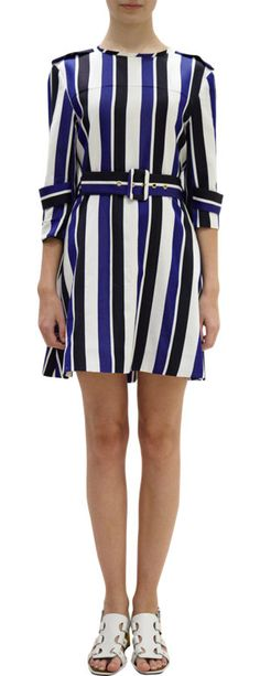 Marni Striped Trench Dress at Barneys.com