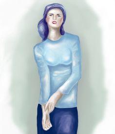 Blue Charlotte by efilyi