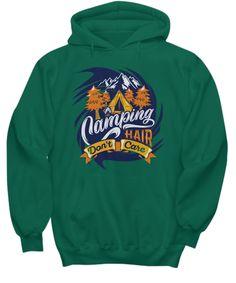 Camping T-shirts Sweat Shirt, Hooded Sweatshirts, Hoodies, Cap Sleeves, Long Sleeve Tees, Camping, Campsite, Sweatshirts, Long Sleeved T Shirts