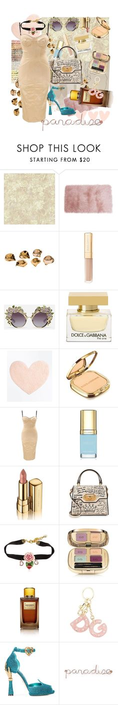"""D&G 💘 My Personal Paradise"" by ninola ❤ liked on Polyvore featuring nanimarquina, York Wallcoverings, Dolce&Gabbana, New Look and Umbra"