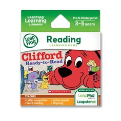 LeapFrog Scholastic: Clifford Learning Game for LeapPad Tablets and LeapsterGS LeapFrog Enterprises http://www.amazon.com/dp/B00H5HFEUM/ref=cm_sw_r_pi_dp_GtMEub16243ZQ