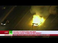Riots break out in Ferguson Michael Brown, Northern Lights, Police, Videos, Nordic Lights, Aurora Borealis, Law Enforcement, Aurora
