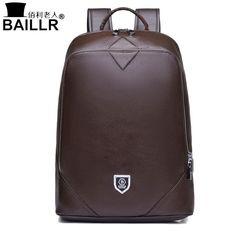 13fb2236c95eb BAILLR Elegant Genuine Leather Backpack for Men  elegance  leatherwork   backpacks Zaini In Pelle