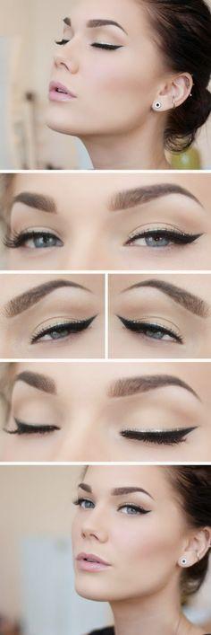 Kolay Eyeliner Sürme Yöntemi