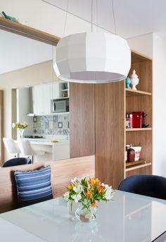 Apartamento de 65 m² com décor clean e áreas integradas | CASA CLAUDIA